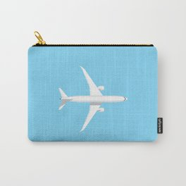 787 Passenger Jet Airliner Aircraft - Sky Carry-All Pouch