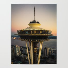 Space Needle (close-up) Poster