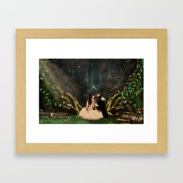 Kabby - The Princess & The Pirate Framed Art Print