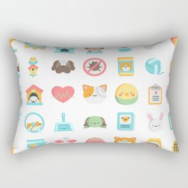 CUTE VET / VETERINARIAN PATTERN Rectangular Pillow