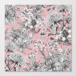 FLORAL GARDEN 7 Canvas Print