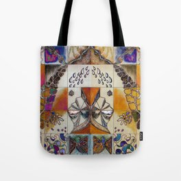 Not Seeing Double Gameboard Tote Bag