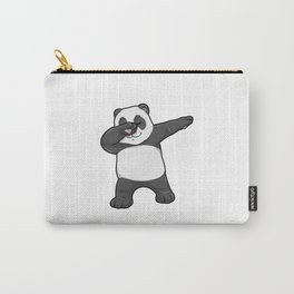 Panda at Hip Hop Dance Dab Carry-All Pouch