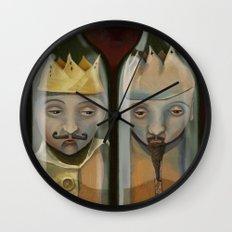 Bottled Kings Wall Clock
