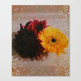Fleurs Canvas Print