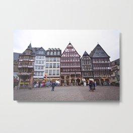 Frankfurt Altstadt Metal Print