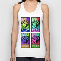 majora Tank Tops featuring Majora Commands You by Shy Guy Street Art