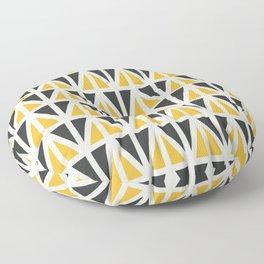Sunny Triangles Floor Pillow