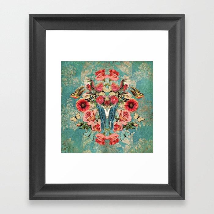 Birds of a Feather 1 Framed Art Print