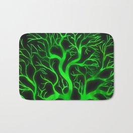 Emerald Branches Bath Mat