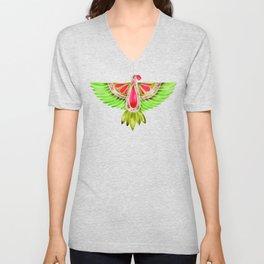 Lovebird Parrot Unisex V-Neck