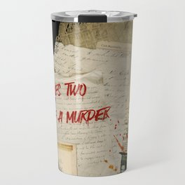 Murder Board Travel Mug