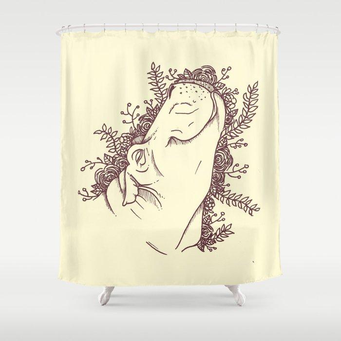 Fabulous Hippo Shower Curtain By Hinasei