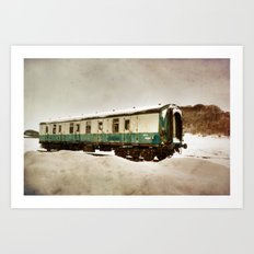 Out in the Cold Art Print