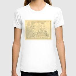 Map of Alaska (1909) T-shirt