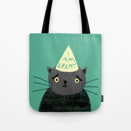 "Fat Olive ""I Am Great"" Tote Bag"