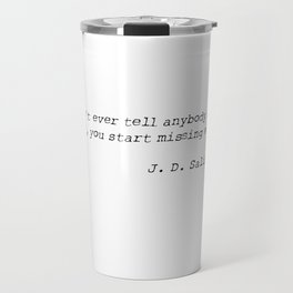 SALINGER Travel Mug