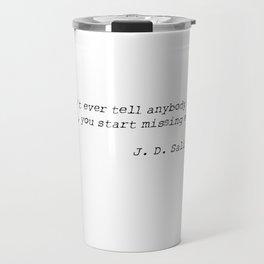 SALINGER Travel Mug