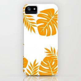 Paradise in Tangerine iPhone Case