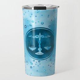 Libra Zodiac Sign Air Element Travel Mug
