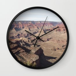 Amazing Grand Canyon Arizona Photo Art Print | Travel Photography Wall Clock