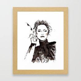 Marion Framed Art Print