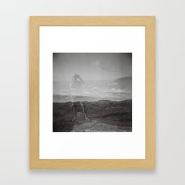 Pencarrow 2 Framed Art Print
