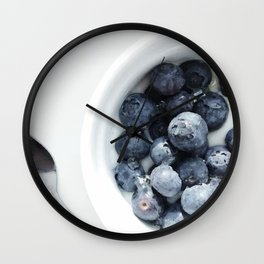 Blueberry Wall Clock