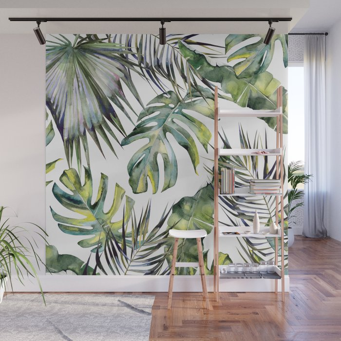 TROPICAL GARDEN 2 Wall Mural