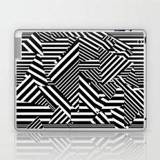 Dazzle Camo #01 - Black & White Laptop & iPad Skin