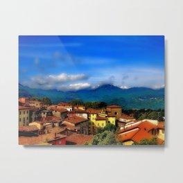 Barga, Italy Metal Print