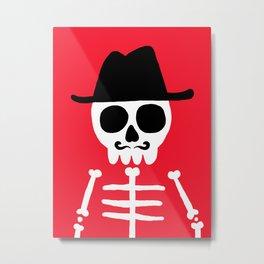 El Skeletor Metal Print