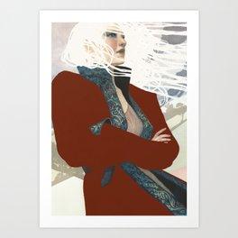 Why She Wanders Art Print