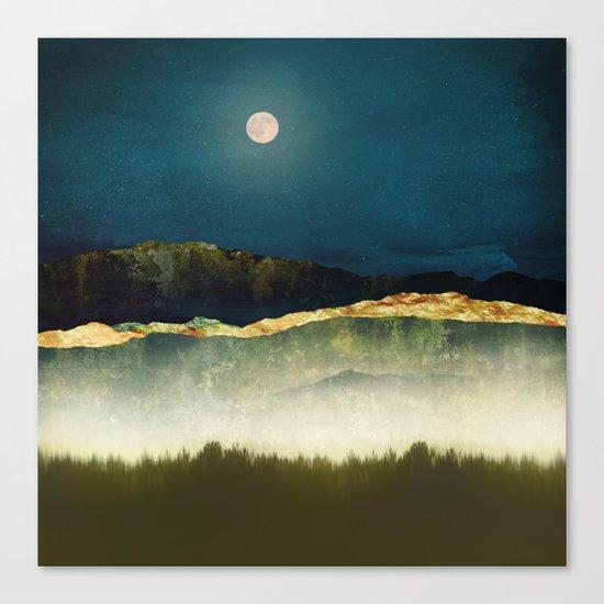 Midnight Moonlight Canvas Print