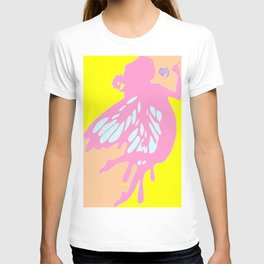 Fairy With A Rose T-shirt