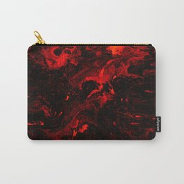 Red Blood Splatter Carry-All Pouch