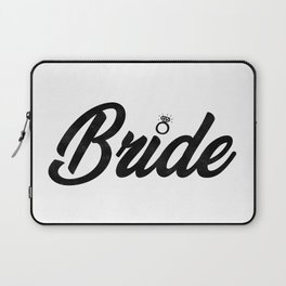 Funny Bride To Be Bridesmaid Bridal Party Gift Laptop Sleeve