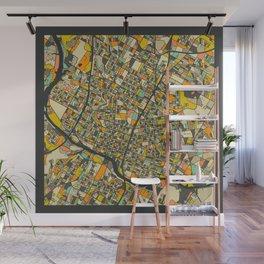 AUSTIN MAP Wall Mural