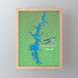 Lake Päijänne,Finland Framed Mini Art Print