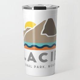 Glacier National Park Travel Mug