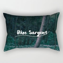 Blue Sargent Rectangular Pillow
