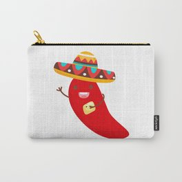 Cinco De Mayo Pepper Design Carry-All Pouch