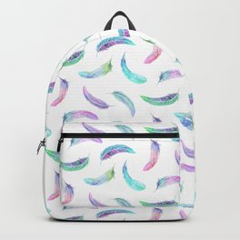 Fly Feather Pattern Backpack