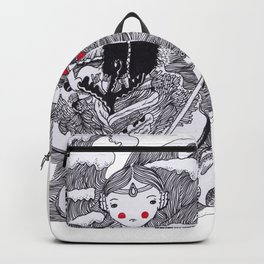 The ocean Queen Backpack
