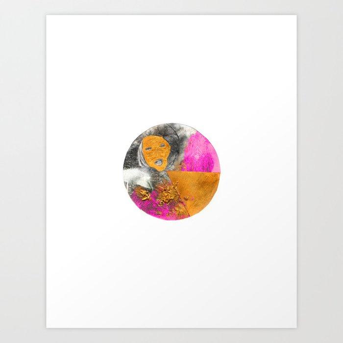 Dama Katherine Art Print