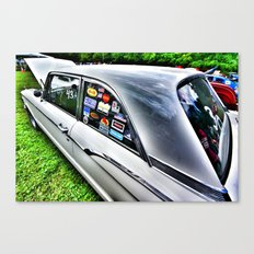 Stickers Canvas Print