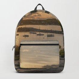 Rockport Harbor Sunset 6-9-18 Backpack