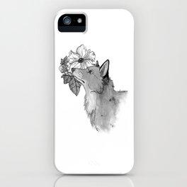 Flower Fox iPhone Case