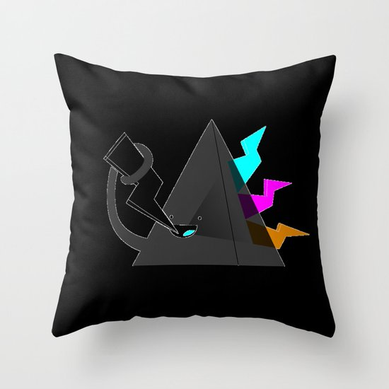 Dark Side of the Noms Throw Pillow