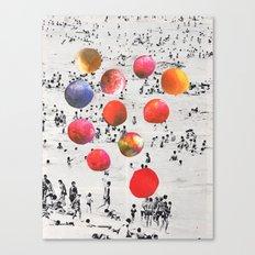 BEACH BALLS Canvas Print